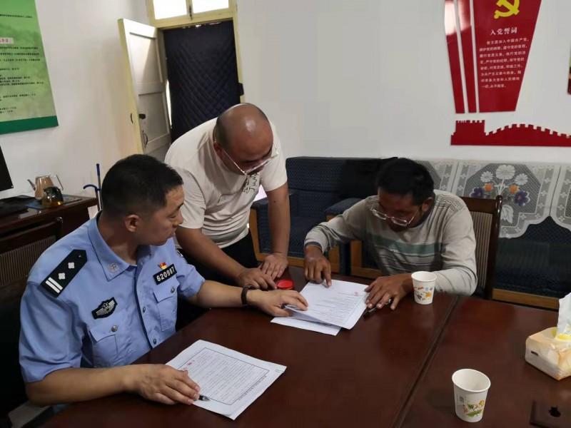 民勤连古城管护中心开展重点区域联合禁牧执法行动