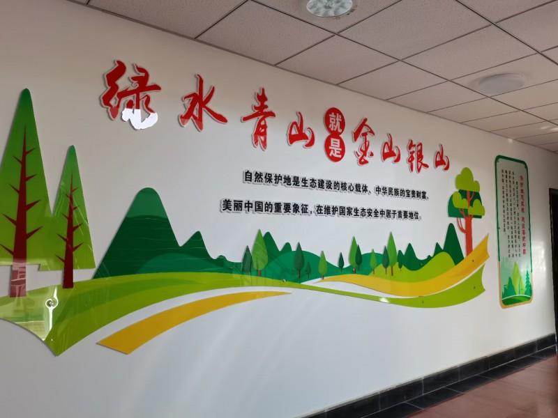 民勤连古城管护中心打造生态文化长廊展现保护区良好风貌