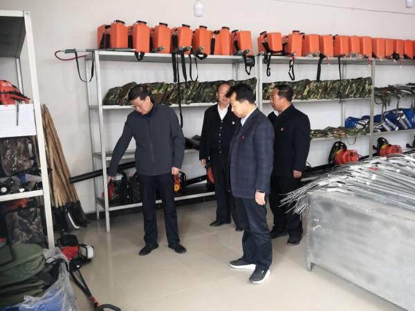 省林草局党组书记、局长宋尚有检查指导太子山保护…