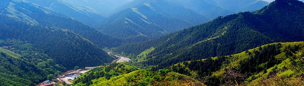 兴隆山全貌
