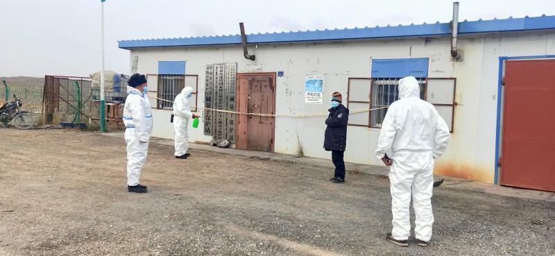 多措并举, 筑牢疫情防控防线--碱泉子保护站积极协助当地开展疫情防控工作